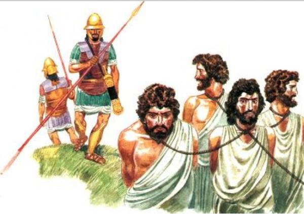 Рабовладельчество рабовладельцы смотрели на рабов, как на скот, налагая на ни