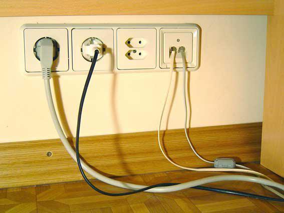 Правило эксплуатации электропроводки