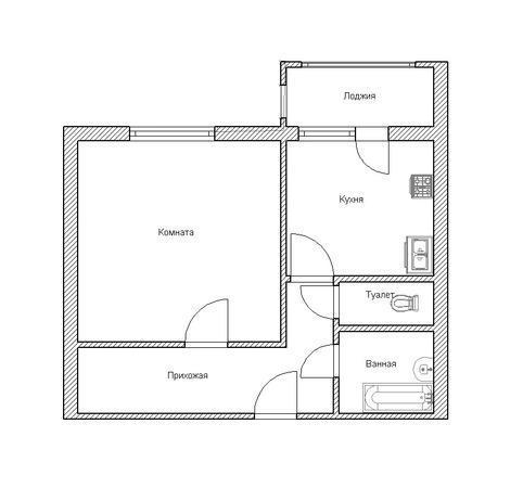 фен-шуй план квартиры