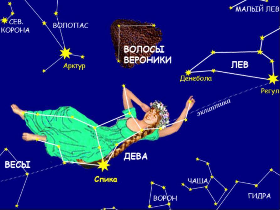 Знак зодиака дева картинки созвездие